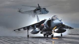 letectví, letadlo, Vrtulník, противолодочный, bojové, britský, angličtina, Bojovník, bombardér, Harrier, Harrier, Си Кинг, Sea King