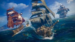 кораблі, вітрильники, пірати