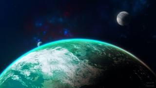 земля, Планет, Галактика, Вселенная, Туманность, звезды