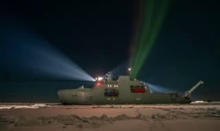 Harry DeWolf, патрульный, loď, арктической зоны, Kanada