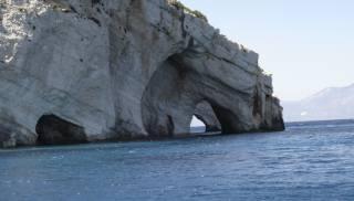 Řecko, zakynthos, letní, moře