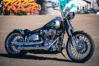 Harley Davidson, таможня, Thunderbike, flamos