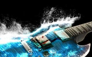 3d, music, blue