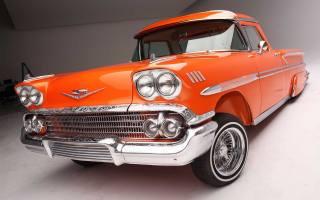 Chevrolet, nomad, 1958, митниця, lowrider