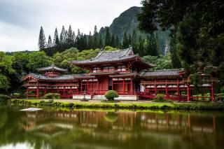 Kyoto, Japan, the temple, pagoda, city, Uji, Bedouin temple, the city