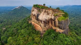 джунглі, скеля, плато, сигирия, Шрі-Ланка