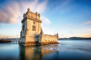 Portugal, the fortress, coast, the sky