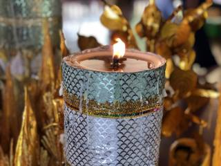Candle, candlestick, Flame, background