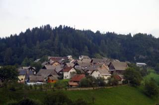 селище, ліс, Словенія