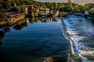Италия.вода.река, building